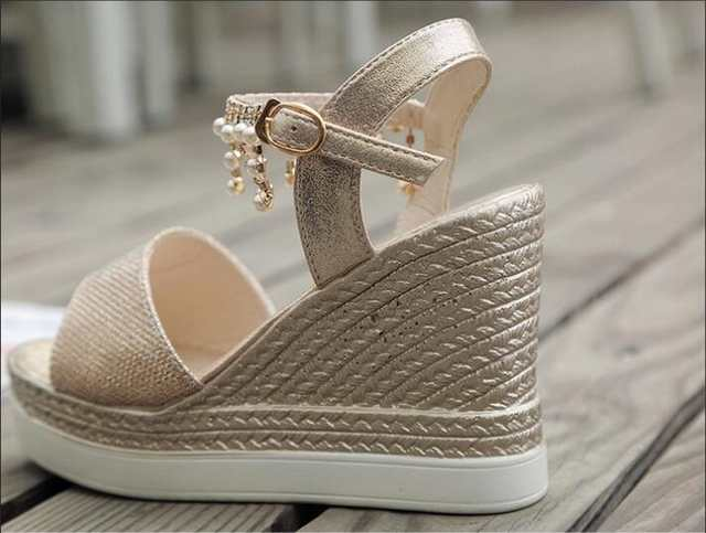 87ea2ffd40a1 Silver Rhinestone&Crystal Sandals Women Shoes Summer Fetish High Heel  Sandals Ladies Glitter Addeds Lolita Shoes Woman Sandalie-in High Heels  from Shoes on ...