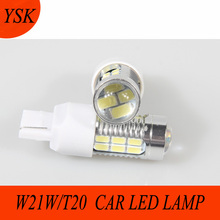 T20 Single refuse silk 7440 W21W 22SMD 5630LED Tower-Wedge Retrofit Lights Reversing truck led Lamps автолампа xenite ts 7811 светодиодная 9 30v t20 w21w 1009340 2 шт