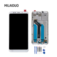 Full LCD Display With Digitizer Touch Screen For Xiaomi Redmi 5 Plus Assembly Replacement With Frame