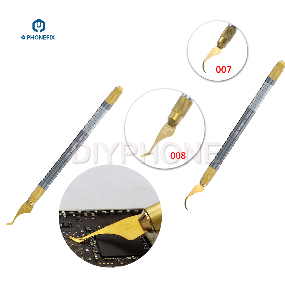 Qianli 007 008 CPU IC Glue Remover Knife Thin Blade Motherboard BGA Chip Glue Cleaning Scraping Pry Knife IC Chips Remove Tool