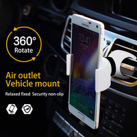 Universal 360 Degree Rotation Car Mobile Phone Holder Bracket Mount for Iphone PSP GPS Mount Bicycle phone holder