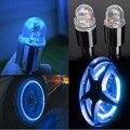 2 pcs firefly falou leds motion tampa da haste da válvula do pneu da roda neon lâmpada luz para bicicleta da bicicleta do carro da motocicleta acessórios