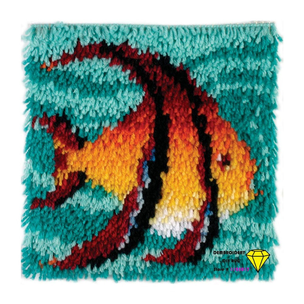 Aliexpress.com : Buy Fish Handmade Carpet Diy Carpets And