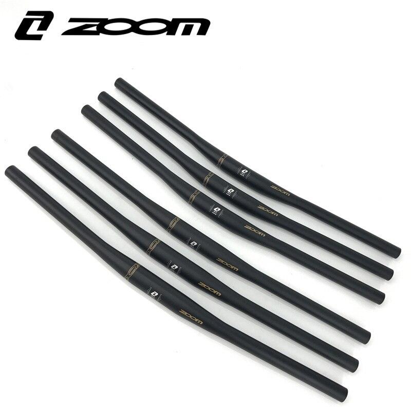 Zoom Noir Alliage Riser Mtb Guidon 620 mm