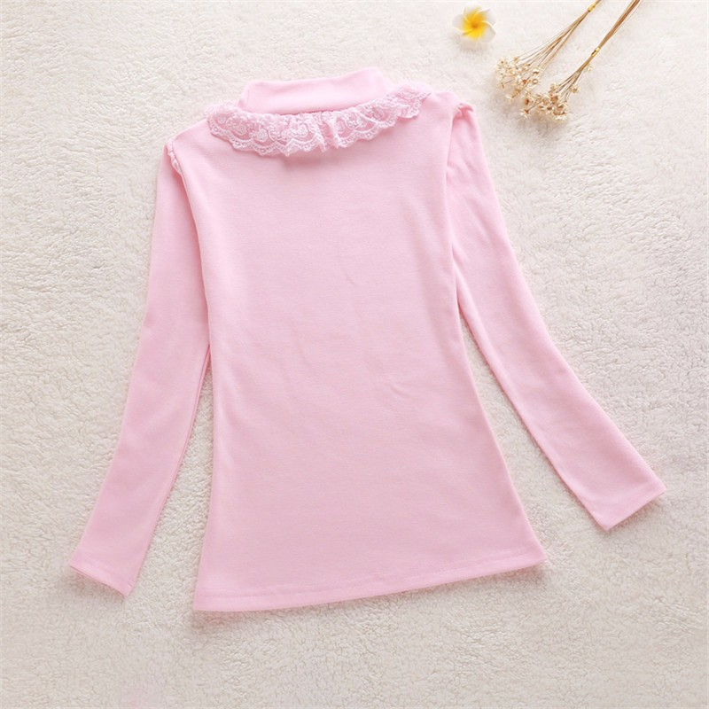 Girls Lace Bow Sweater (6)