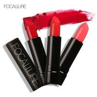 FOCALLURE Waterproof Elegant Lipstick Moisturizer Smooth Lip Stick Long Lasting Charming Lip Lipstick Cosmetic Beauty Makeup