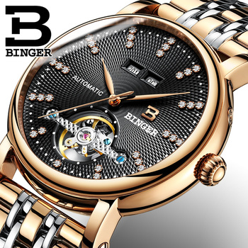 Swiss Brand Genuine Luxury Crystal Watch