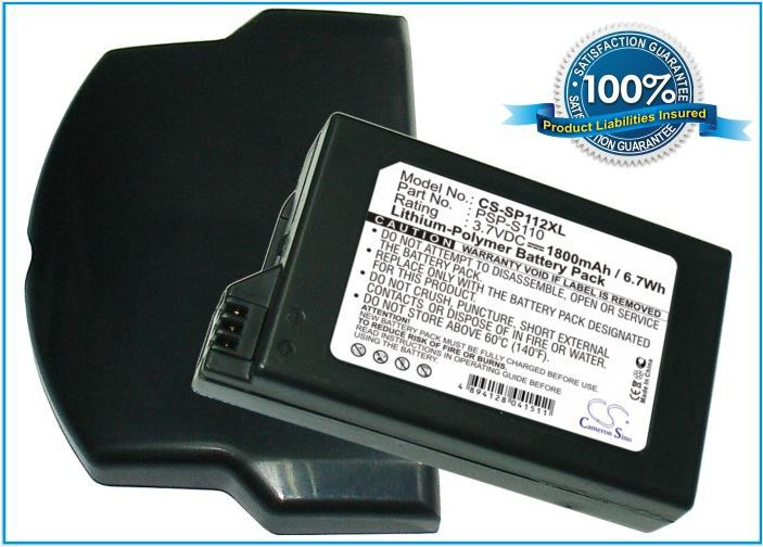 1800mAh Battery For SONY Lite, PSP 2th,PSP-2000,PSP-3000,PSP-3004,Silm1800mAh Battery For SONY Lite, PSP 2th,PSP-2000,PSP-3000,PSP-3004,Silm