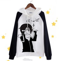 Unisex Men Women Anime Noragami YATO Cotton Hoodie Coat Sweatshirts Cosplay Costumes