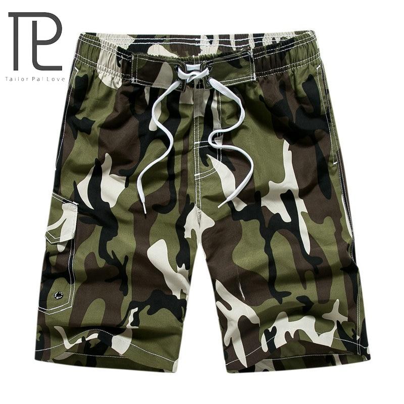 Tailor Pal Love Brand 2019 Summer Hot Camouflage Board Shorts Men Casual Mens Beach Shorts
