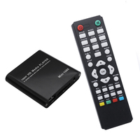 HDD Media Player Full HD 1080P SD U Disk USB External Multimedia Player With HDMI VGA