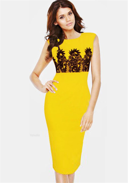 Compare Prices on Yellow Casual Dress- Online Shopping/Buy Low ...