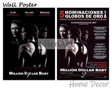 Million Dollar Baby Movie Home Decorative Painting White Kraft Paper Poster 42X30cm lisa jackson million dollar baby