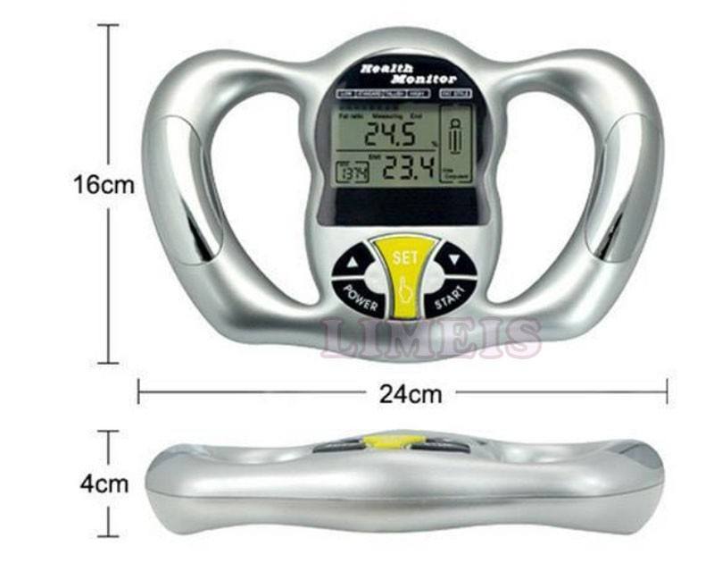 body fat caliper skin fold analyzer 2