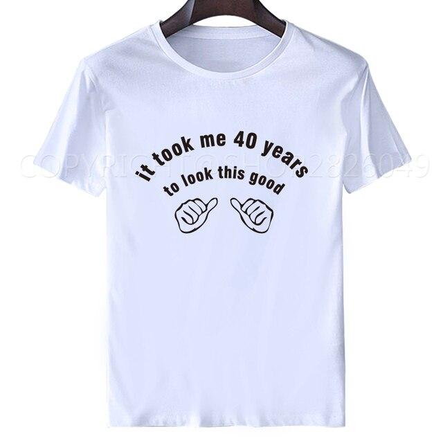 christmas gift husband gift it took me 40 years mens tee shirt for ...