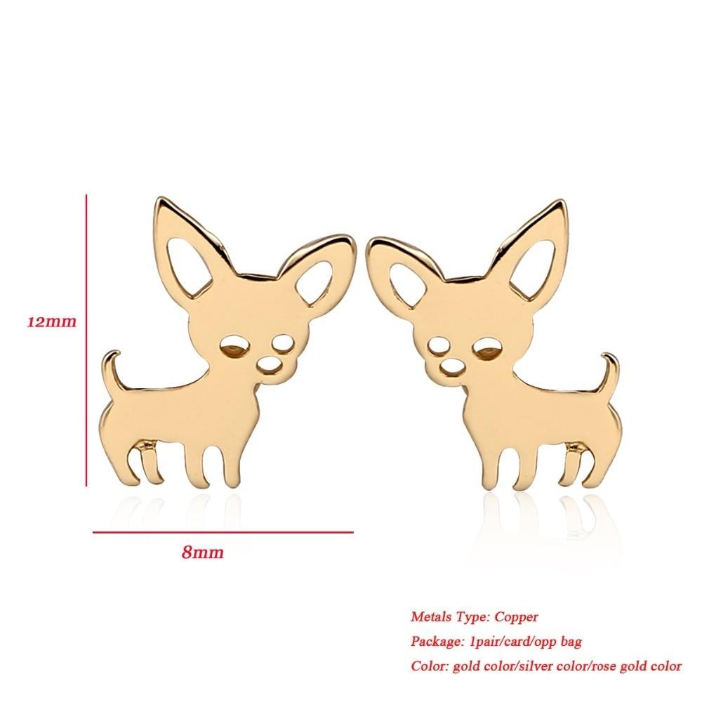 Veshjet e reja të Ardhjes Jisensp Chihuahua për Gratë Vajzat Qen - Bizhuteri të modës - Foto 2