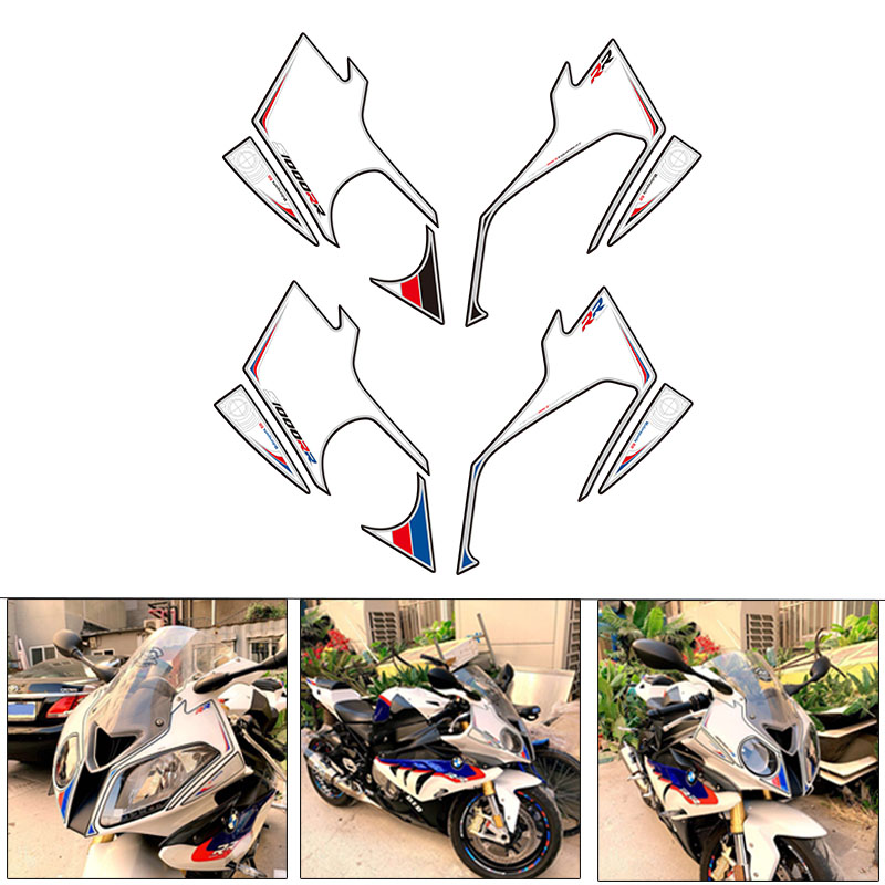 Motorcycle Front Fairing Engine Vehicle sticker 3D Edge Gel Protection Tank Paint pad for BMW S1000RR 2012-2014 2013   Motorcycle Front Fairing Engine Vehicle sticker 3D Edge Gel Protection Tank Paint pad for BMW S1000RR 2012-2014 2013