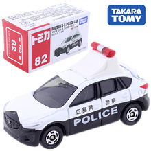 Tomica Japan Mazda CX-5 Police Car Scale Takara Tomy Diecast Metal Model Car In Toy Vehicle Collection Gift Kids цена и фото