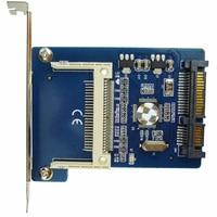 CF NAAR Sata converter CF Compact Flash Card Merory tot 2.5 22Pin converter Adapter Compact Flash Seriële ATA HDD Hard Disk Card