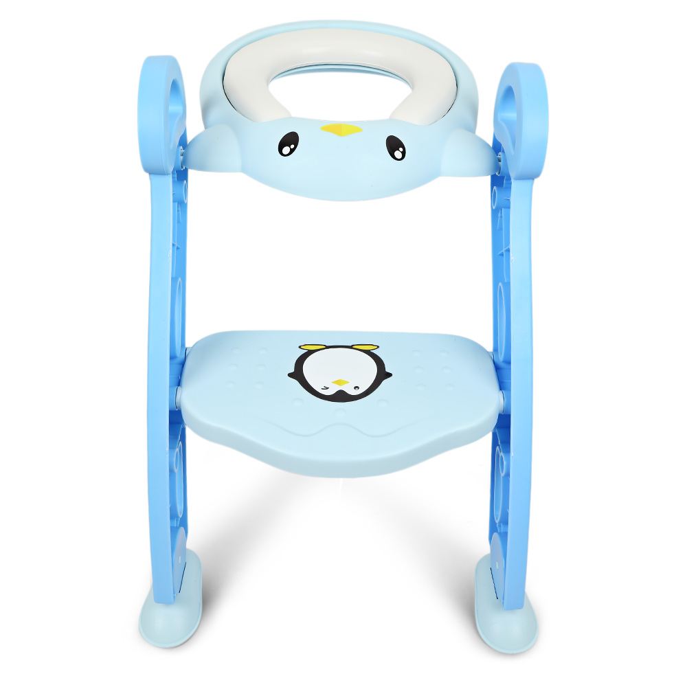 Baby Toddler Potty Training Seat With Non-Slip Toilet Ladder Adjustable PP Potty Toilet Training Sear Ladder Step StoolsBaby Toddler Potty Training Seat With Non-Slip Toilet Ladder Adjustable PP Potty Toilet Training Sear Ladder Step Stools
