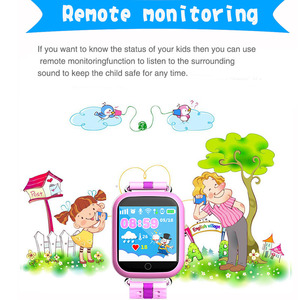 Image 3 - GPS Smart Watch Q750 Q100 Baby Smart Watch With 1.54inch Touch Screen SOS Call Location Device Tracker for Kid Safe PK Q50 Q90