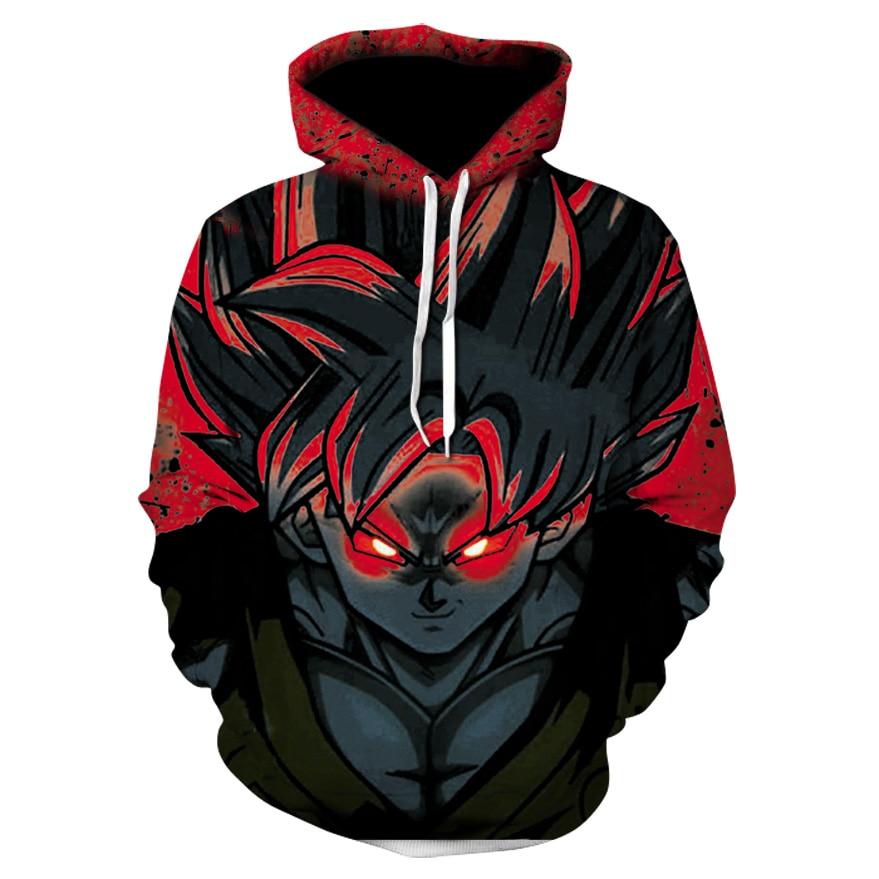 a161b32b6 Dragon Ball 3D Hoodie Sweatshirts Men Women Hoodie Dragon Ball Z Anime  Fashion Casual Tracksuits Boys
