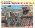 Dragão modelo 6456 1/35 alemão oficiais ( Kursk 1943 ) kit modelo de plástico