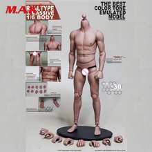 лучшая цена 1/6 Scale Male Body Figure Military Muscular Body Narrow Shoulder Man Body S01 Flexible for 12