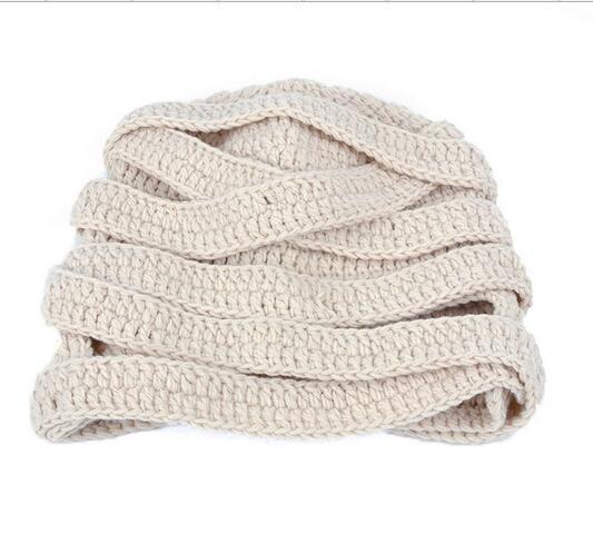 Free shipping 2016 New Men/Women Beanie Hat Autumn Winter knit Caps And Hats For Women Skullies Gorros Slouchy Mummy Knitwear