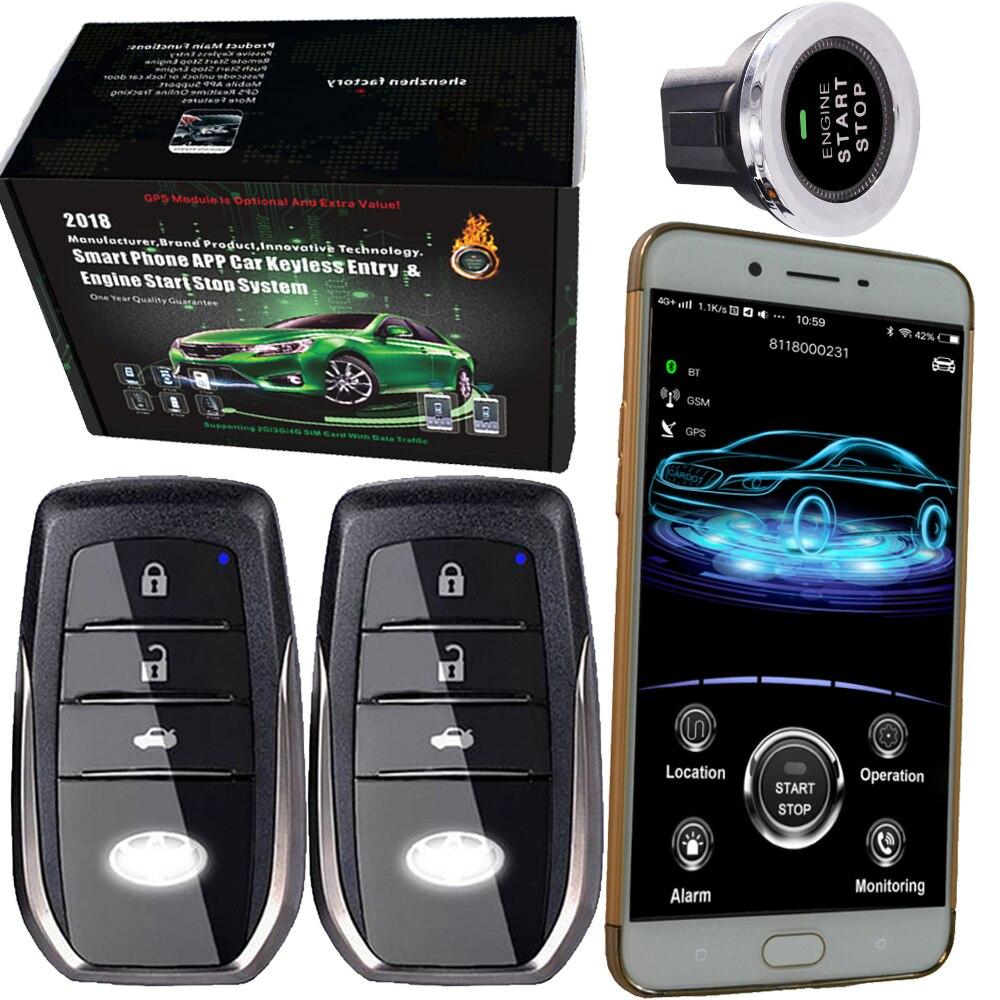 Gsm gps умный автомобиль защита от взлома системы Авто электроника автомобиля сигнализации с Дистанционное включение выключение функция голо