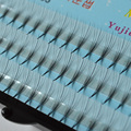 2Case Silk 0.07Thick Flat Ellispe Eyelashes Extension 5B D lashes 8-13mm Korea Material
