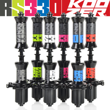 цена на Koozer RS330 Ultra Light Straight Pull Sealed Bearing Road Bike Hub 20 24 Holes Front Rear Bicycle Hubs