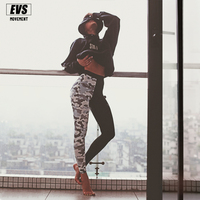 EVS 2018 New Camouflage Pants of women Digital 3D printed Tights Women's Compression Tight pants Sportswear Free shipping