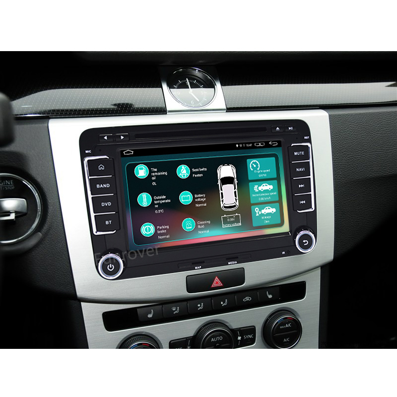 Car Radio Audio Player for VW Volkswagen skoda rns510 POLO GOLF PASSAT CC JETTA TIGUAN radio 7inch GPS Navigationto FM AM BT