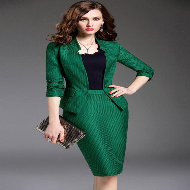 Popular Green Women Suits-Buy Cheap Green Women Suits lots from ...