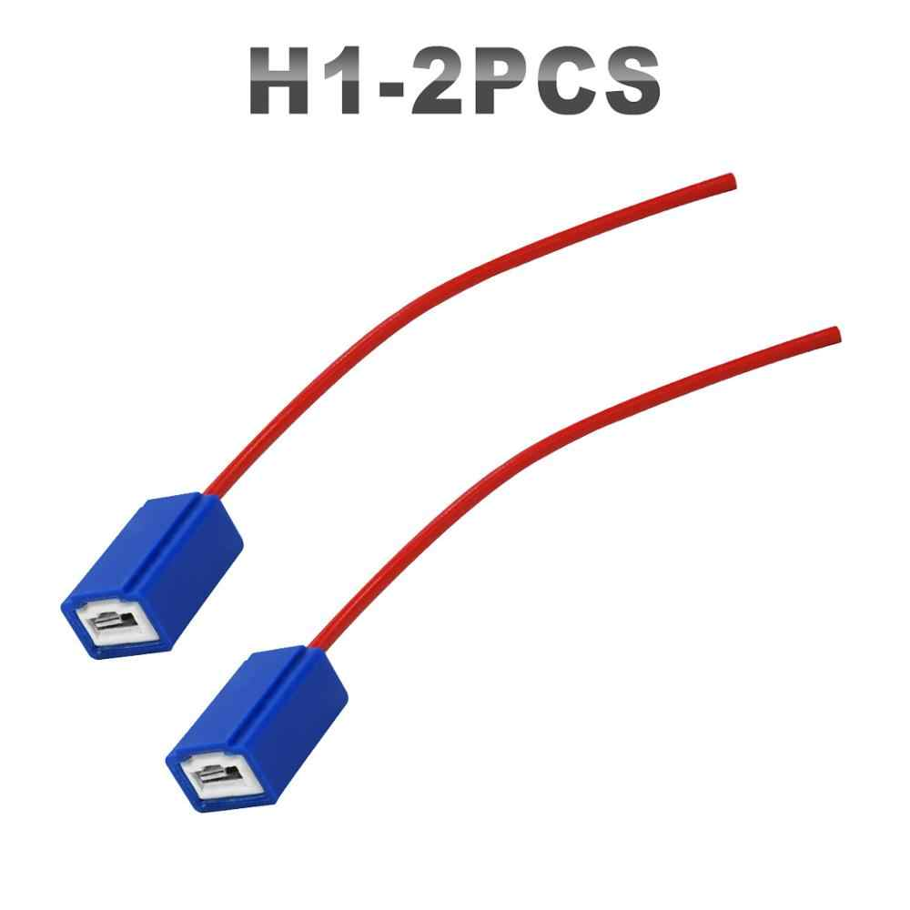 JGAUT 2 Pieces  H1 H7 H13 H8 H9 H11 9007 LED Wiring Harness H11 Connector Of Daytime Running Lights Fog Light Headlight