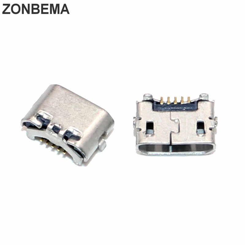 Zonbema الأصلي جديد مايكرو usb المسؤول حوض ميناء موصل ل هواوي p8 4x Y6 4a C8817 p8 ماكس p8 لايت 4c