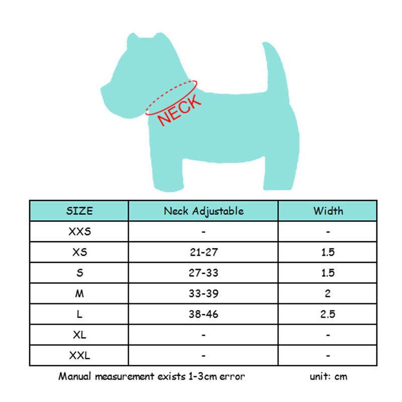 Anjing Kecil Kerah Anjing Nyata Kulit Sapi Hewan Kalung Aksesoris Chihuahua Anjing Kulit Hewan Peliharaan Kerah Toko Katten Honden