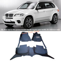 Black Interior Floor Mats & Carpets For BMW X5 E70 5 Seat/ 7 Seat Model 2008 2013