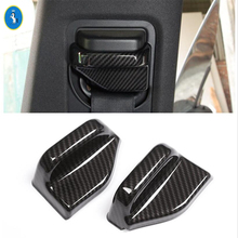 Yimaautotrims Auto Accessory Safety Seat Belt Lock Decoration Cover Trim ABS Fit For Mercedes Benz E CLASS W213 2016 - 2019