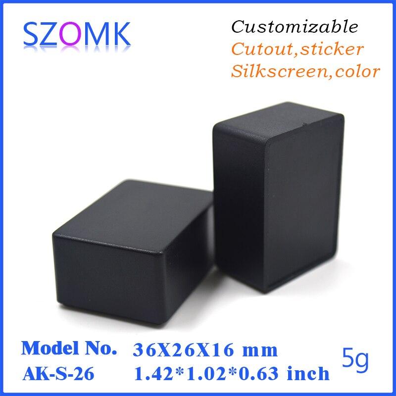 electronics project box black project box small (20 pcs)36*26*16mm ...