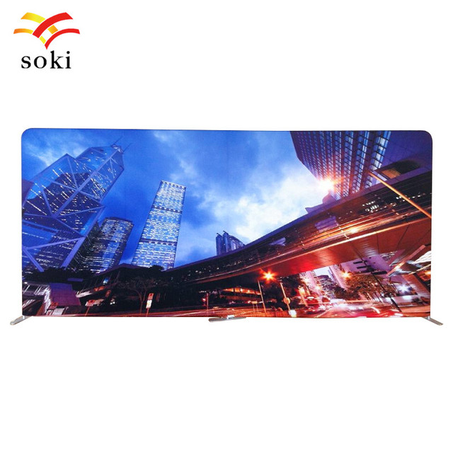 Exhibition Booth Backdrop : 20ft x 7.5ft exhibition booth standard size pop up tension fabric