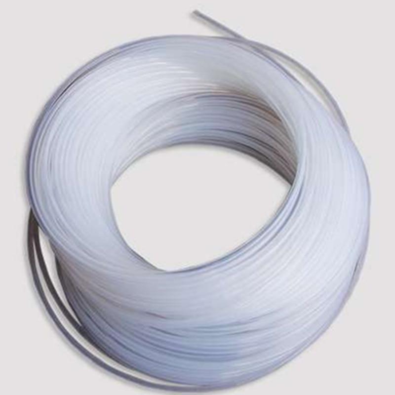 Teflon Tube / PTFE Tube / OD*ID=8*7 Mm / Length:1m / Resistance To Ozone & High Temperature & Acid & Alkali /