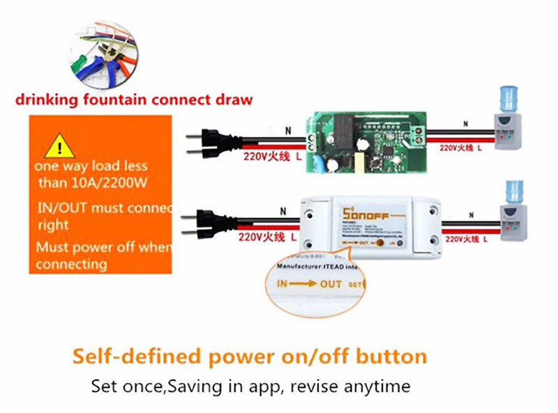 Sonoff, Original Sonoff, Wifi Smart Switch
