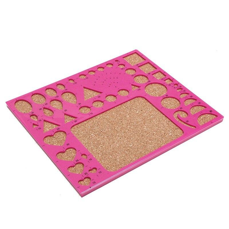 Papier pour bricolage outils de Quilling ensemble modèle moule conseil pince à épiler broches fendue trousse à outils Hamdmake œuvre carte papier artisanat outil nouveau