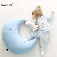Ins Super Moon Pillow To Appease The Baby Children Sleep Nursing Pillow Props Kussens Kinderkamer Warme