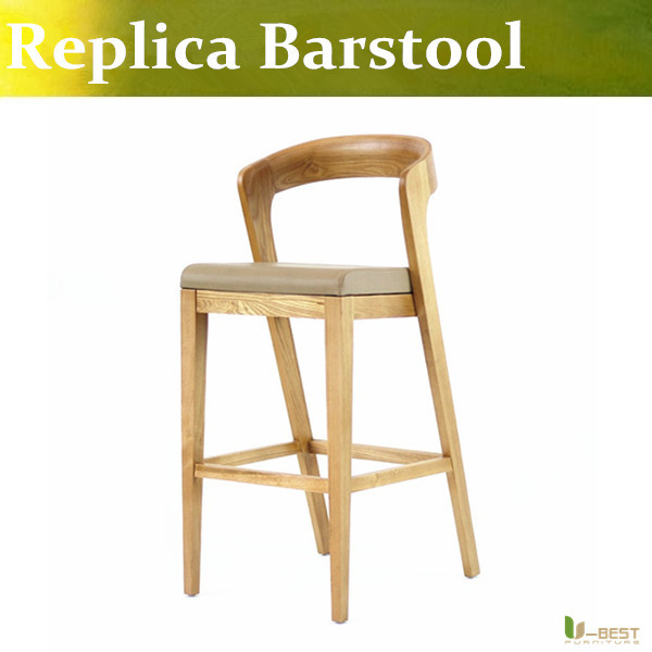 U-BEST Único Estilo Moderno Decorativo Barstool, Contador Fezes com as costas e sem braços, Mobília do Bar, Banquetas Altura Contador