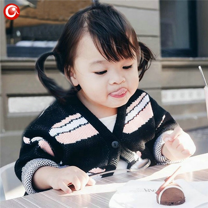12M-4T AutumnWinter Children Girls Cardigan Fashion Cotton Kids Boys Sweater Baby Knit Open Stitch Jumper Clothes For Christmas (8)