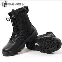 Men Military Boots Outdoor Desert Combat Army Boots Male Shoes Breathable Ankle Boots Botas Winter Snow