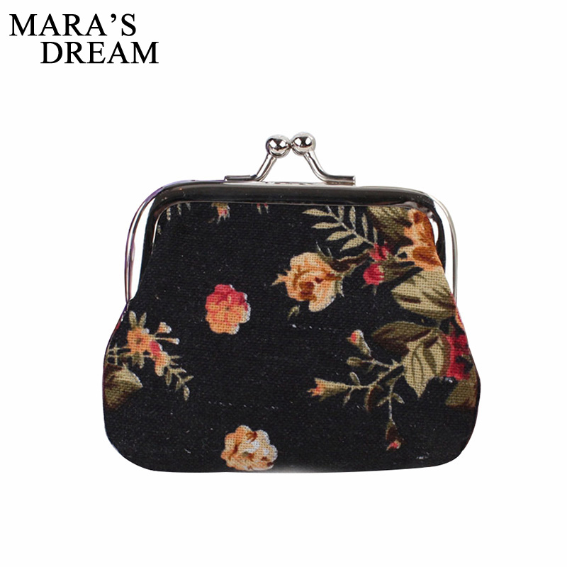 Mara's Dream Nostalgia Big Roses Printing Coin Purses,Women Change Purse, Hasp Coin Bag,Cotton Fabric Key Bag Wholesale free shipping 9 inch lcd screen 100% new for tablet pc display yh090if40h a yh090if40h b yh090if40h